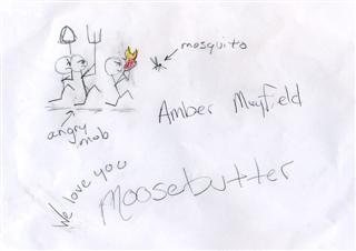 Mosquito by Amber!